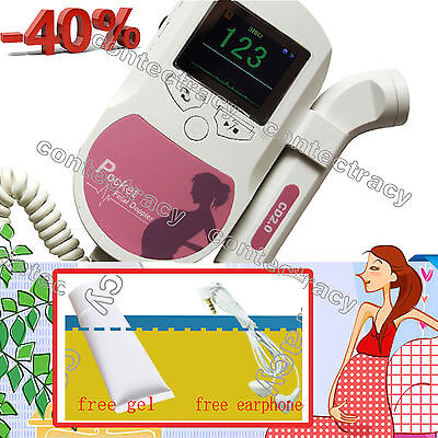 Fetal Doppler Sonoline C,Baby Heart beat monitor,Color LCD+2M probe+gel,earphone