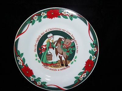 TIENSHAN DECK THE HALLS 12 DAYS OF CHRISTMAS -Eight maids A-Milking -8th Day