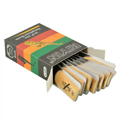 10pcs Classic Alto Sax Reeds For Riyin 2.5 Music Gift Useful Traditional