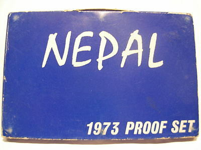 Nepal 1973 Full Proof Set