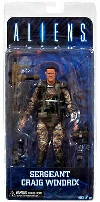 Series 2 Aliens Sergeant Windrix 7in Action Figure NECA Toys