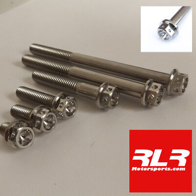 M6 TITANIUM BOLTS flange head motorsport Drilled M6x45mm - £3 70