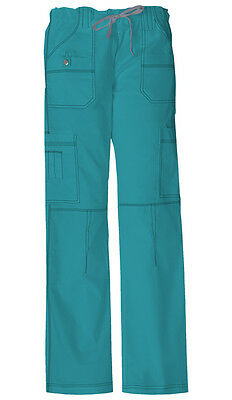 Scrubs Dickies Gen Flex Youtility Cargo Pant  857455 Teal  FREE SHIPPING!