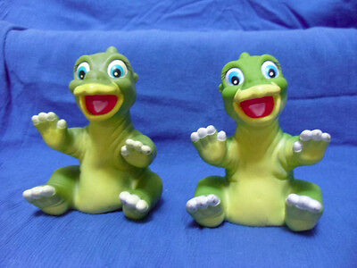 2 Ducky Vinyl Puppets from Pizza Hut.