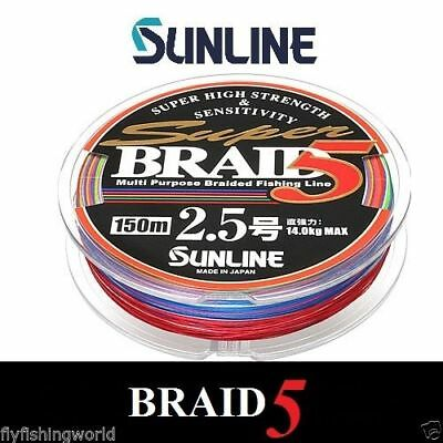 Sunline SUPER BRAID 5 LINE - for fishing
