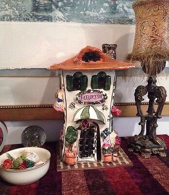 Heather Goldminc Victorian Candle House Blue Sky Clayworks