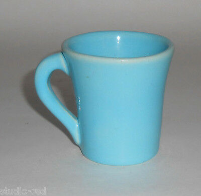 Catalina Island Pottery Turquoise Demitasse Cup! MINT