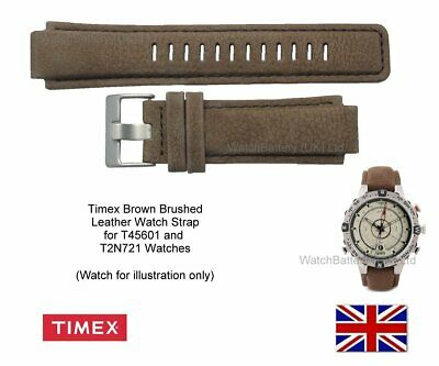 Genuine Timex Watch Strap.Replacement for T45601,T2N721 E-tide Compass Watches