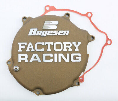 Boyesen Factory Clutch Cover MAGNESIUM For Kawasaki KX125 03-08 CC-11AM