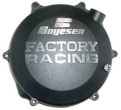 BOYESEN - M/C CLUTCH COVER RMZ450 08-09 BLACK OEM Replacement CC-26AB 0940-1122