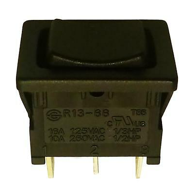 SPDT Momentary Rocker Switch 1 Circuits On-Off-On 6A/250V