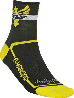 Fly Racing ADULT Action Sock Yellow-Black S-M