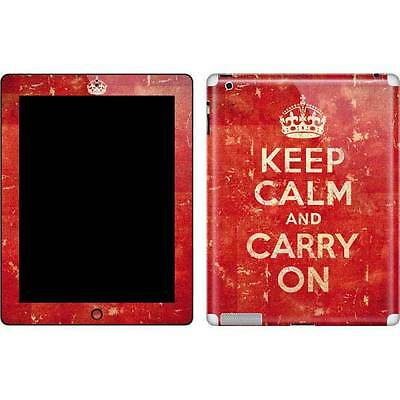 Keep Calm and Carry On Distressed Apple New iPad (3rd/4th Gen) Skin