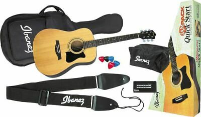 Ibanez IJV50 Quickstart Jampack Acoustic Guitar Bundle