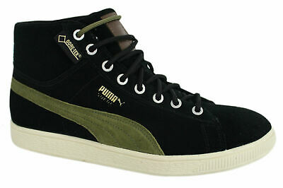 Puma Suede Platform Animal Womens Low Top Olive Lace Up Trainers 365109 03 Q6I