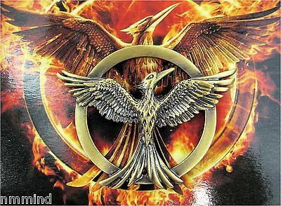 NEW The Hunger Games 3 Mockingjay Inspired Antique Bronze Pin 1.5 Inch