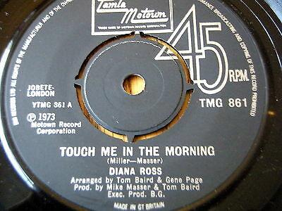 """DIANA ROSS - TOUCH ME IN THE MORNING  7"""" VINYL"""