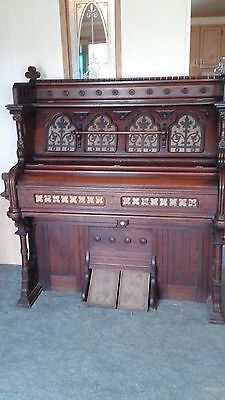 Estey Organ 1885 Antique Pump Organ Serial:160098