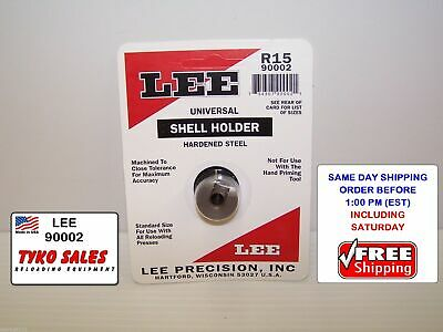 LEE Reloading Press Shell Holder R15 New in Package #90002
