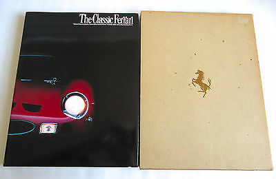 THE CLASSIC FERRARI JAPAN PHOTO BOOK 1984 Great Models SWB GTO LM Daytona