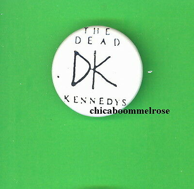 Dead Kennedys 1983 uk pinback button badge pin HH