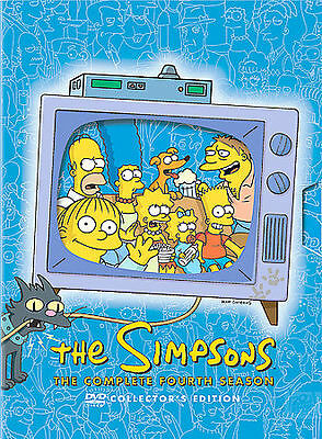 THE SIMPSONS: THE COMPLETE FOURTH SEASON - DVD -