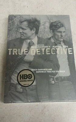 True Detective: The Complete First Season (DVD, 2014, 3-Disc Set) Fast Shipping!