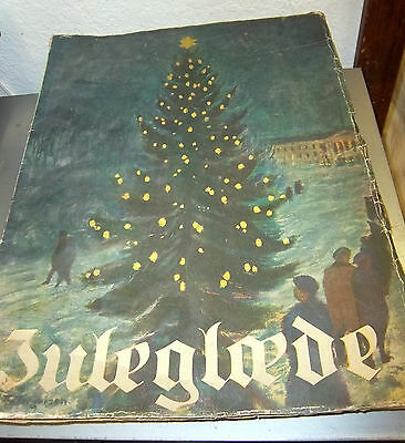 vintage 1920s NORWAY Book Magazine JULEGLEDE with Christmas tree on front