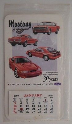 1999 MUSTANG MINI CALENDAR WALDEN HILL COLLECTION - UNUSED IN PACKAGE
