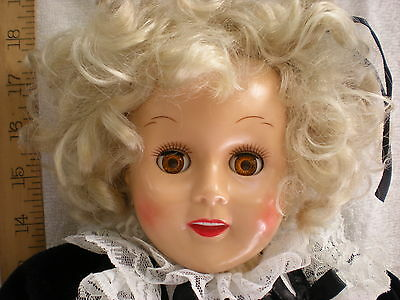 """19"""" Horsman Doll Shirley Temple 1989 Reissue dressed"""