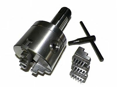 """Z LIVE CENTER 3"""" 3 Jaw Precision Self Centering Lathe Chuck with 5C Shank"""
