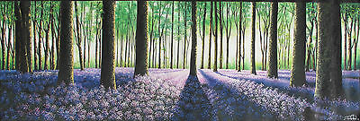 art painting modern canvas tree forest  210cm JANE CRAWFORD