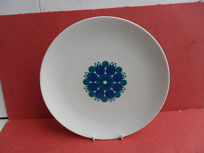 THOMAS (Germany) Pin Wheel Blue, Serving Plate or Bread Plate