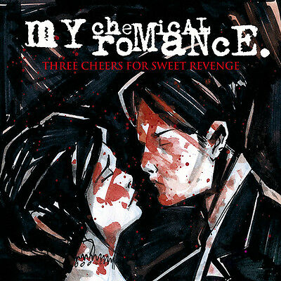 My Chemical Romance Three Cheers For Sweet Revenge Vinyl LP Record limited! NEW!