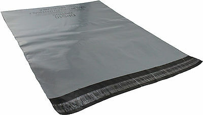 Grey Mailing Bags ☆ Strong Self-Seal Shipping Pouches ☆ Plastic Postal Mailers