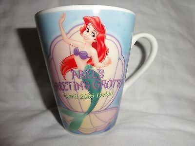 Tokyo Disney Sea Ariel Greeting Grotto Opening A Little Mermaid Mug Disneyland