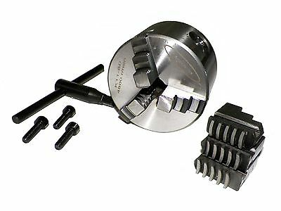 """3"""" ( 3 inch) 3 Jaw Precision Self Centering Lathe Chuck with 2 sets jaw"""