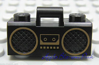 Lego Boom Box with CD and Speakers 3932 Minifig Utensil Music Radio