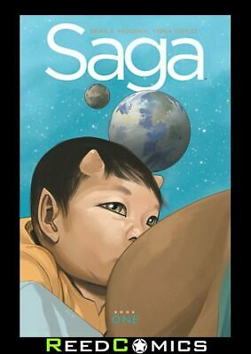 SAGA VOLUME 1 DELUXE EDITION HARDCOVER New Hardback Collects Issues #1-18