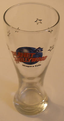 Planet Hollywood Niagara Falls Tall Pilsner glass (Beer / Cocktail GLASS) -8.5""