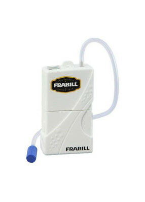 Frabill Battery Operated Portable Aerator With Airstone - Live Bait Pump