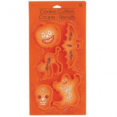 Halloween Shaped Cookie Cutters x 5