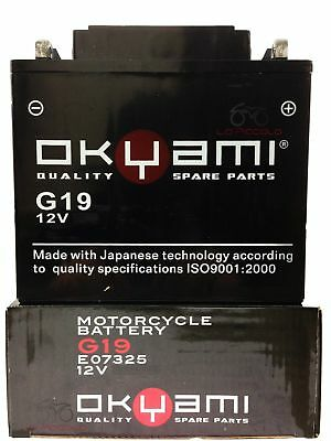 Batteria Sigillata Pronta Okyami G19 12 V 22 Ah Bmw R 1150 Gs / Adventure Rt Rs