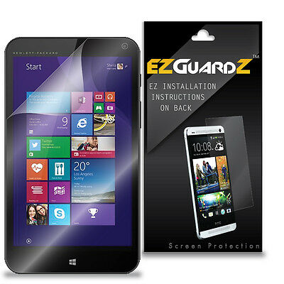 3X EZguardz LCD Screen Protector Skin Cover HD 3X For HP Stream 7 Tablet (Clear)