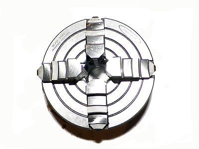 """4 Inch (4"""")  4 Jaw Independent Lathe Chuck in Semi Steel superior quality"""