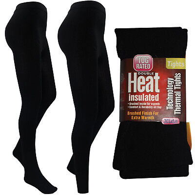 New Girls Thermal Thick Winter Black Warm Stretchy Children Footless Foot Tights