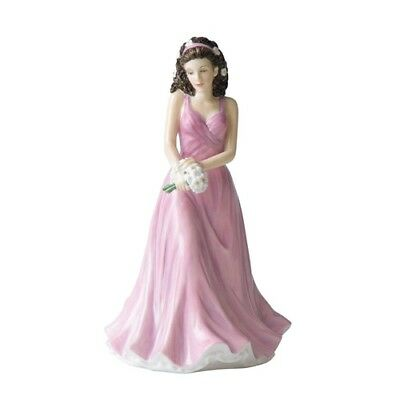 Royal Doulton Flower of the Month April Daisy Figurine DISCONTINUED