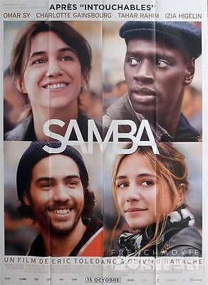 Samba - Omar Sy / Charlotte Gainsbourg - Original Large French Movie Poster