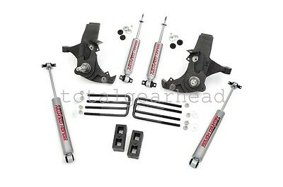 """1988-1998 Chevrolet GMC 1500 2WD 4"""" Rough Country Suspension Lift Kit [231N2]"""