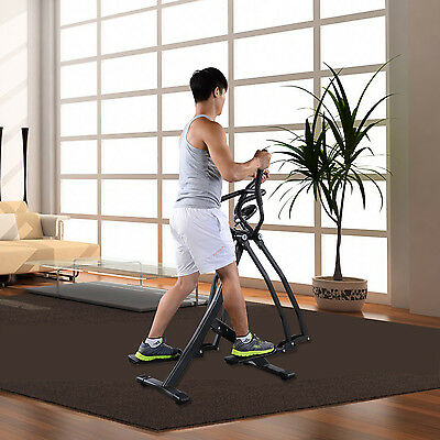 Air Walker Gravity Strider Fitness Training Exercise Workout Equipment w/Monitor